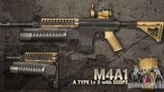 [Point Blank] M4A1 para GTA San Andreas