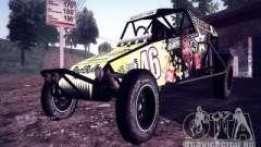 Buggy Monster energy para GTA San Andreas