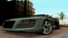 Audi R8 LeMans para GTA San Andreas