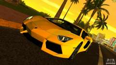 Lamborghini Aventador LP 700-4 para GTA Vice City