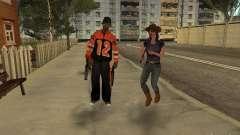Qualquer grupo do player 3.0 para GTA San Andreas