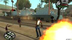 God mod CLEO para GTA San Andreas