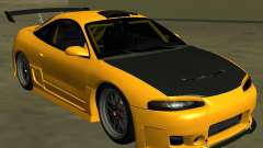 Mitsubushi Eclipse GSX tuning para GTA San Andreas