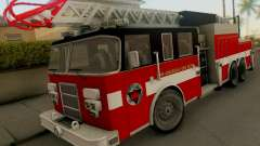 Pierce Firetruck Ladder SA Fire Department para GTA San Andreas