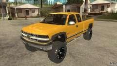 Chevrolet Silverado 2500 Lifted para GTA San Andreas