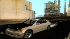 Lexus IS300 Deriva branco para GTA San Andreas