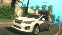 Subaru Impreza Sedan 2012 para GTA San Andreas