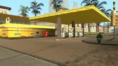 Novos postos de gasolina de texturas