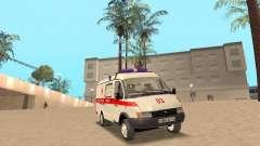 Ambulância de gazela 2705