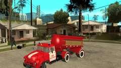 O caminhão de bombeiros AB-6 (130В1)