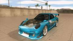 Mazda RX-7 911 Trust para GTA San Andreas