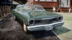 Dodge Dart 1975 [Final] para GTA 4