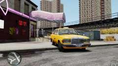Mercedes-Benz 230 E Taxi para GTA 4