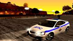 Acura RSX-S polícia