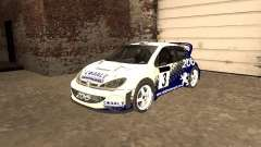Peugeot 206 WRC de Richard Burns Rally