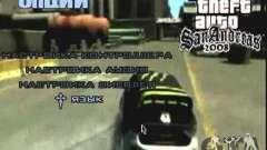 Vídeo de drift de menu GTA4