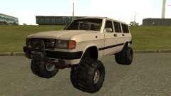 Volga 31022 gás 4 x 4