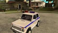 VAZ 2121 polícia