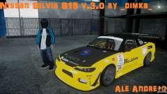 Nissan Silvia S15 v.3.0 para GTA 4