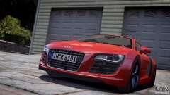 Audi R8 V8 2008 v2.0 para GTA 4