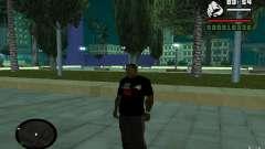 T-shirt baixo difícil. para GTA San Andreas