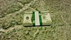 de 100 contas de Reserva Federal dos Estados Uni