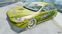 Mitsubishi Lancer X JUN para GTA 4