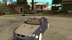 BMW M3 E92 TUNED para GTA San Andreas