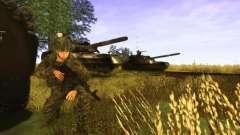 Uma pele de soldado russo