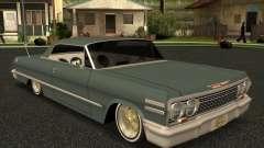 Chevrolet Impala 1963 lowrider para GTA San Andreas