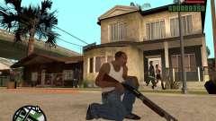 Chromegun HD para GTA San Andreas