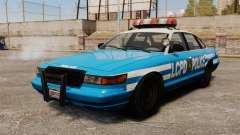 Uma nova viatura policial