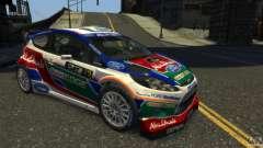 Ford Fiesta RS WRC белый para GTA 4