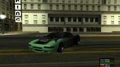 Teal Infernus para GTA San Andreas
