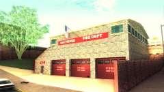 Novo quartel de bombeiros em San Fierro