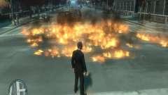 Intense Fire Mod para GTA 4