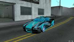 Baby blue Infernus para GTA San Andreas