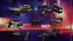 Mass Effect Weapons Pack para GTA San Andreas