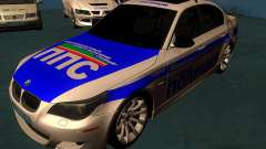 BMW M5 E60 polícia