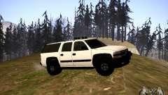 Chevrolet Exterior белый para GTA San Andreas
