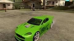 Aston Martin Vantage V8 - Green SHARK TUNING!