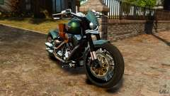 Harley Davidson Fat Boy Lo Racing Bobber