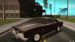 Plymouth Barracuda Formula S para GTA San Andreas