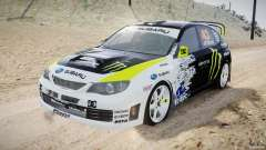 Subaru Impreza WRX STi 2009 Ken Block para GTA 4
