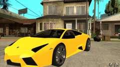 Lamborghini Reventon олива para GTA San Andreas