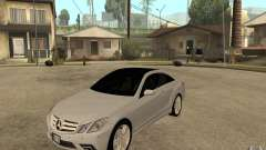 Mercedes Benz E-CLASS Coupe para GTA San Andreas