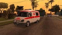 Ambulância de gazela