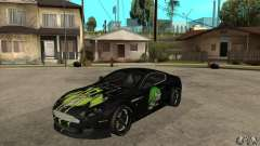 Aston Martin DB9 NFS PS Tuning para GTA San Andreas