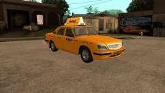 Volga GAZ-31105 táxi para GTA San Andreas