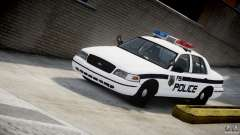 Ford Crown Victoria FBI Police 2003 para GTA 4